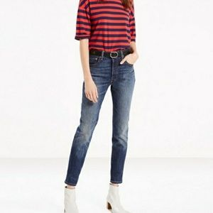 Levi's 501 High Waisted Skinny Jeans Supercharger